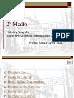 Corrientes Historiográficas Chilenas