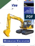 Komatsu PC130F Leaflet