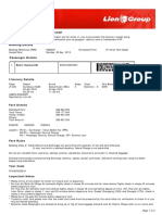 Lion Air ETicket (PJBDNO) - Bahri - Agent Copy