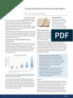 Dental Advantages of PEEKdental Prosthetic Framework Over Metal