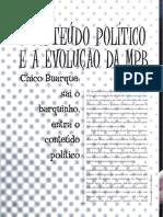 MACIEL - O Conteúdo Político e a Evolução Da MPB