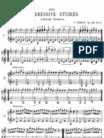 Czerny Op139 100 Progressive Studies 1 49