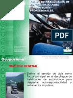 Autocuidado Conductores Profesionales 2002