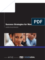 Success Strategies for Women Lawyers
