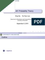 Probability Theory Presentation 03