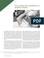 Género y práctica de actividad física en Santander, Colombia