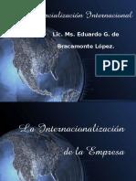 S6 (a) La Internacionalización de La Empresa