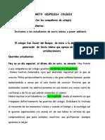 LIBRETO  DESPEDIDA  COLEGIO Compañeros.doc