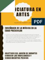 Licenciatura en Artes Monita Guapa