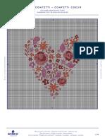 Patterns Valentines - Heart Confetti