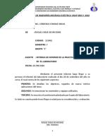Informe Laboratorio Mecanico 1