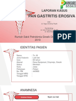 Laporan Kasus Pan Gastritis Erosiva