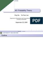 Probability Theory Presentation 07
