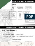 fundamental principles & equatimes