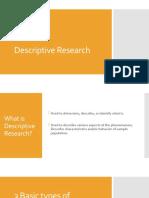 Descriptive Research Group5