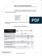 leadership questionnaire