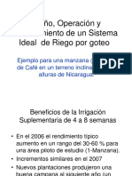 Espanish Key Points for Drip Deign for Coffee2008