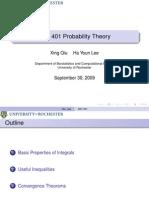 Probability Theory Presentation 08