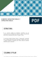 Elementos Infraestructurales y Superestructurales