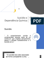 Dependência Química e suicídio