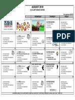 8 - 2019 August Activities Calendar Ed Clapp