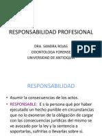 Resumen Responsabilidad Profesional