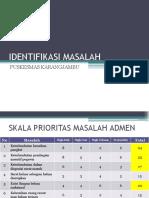 IDENTIFIKASI MASALAH AUDIT INTERNAL