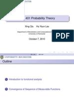 Probability Theory Presentation 10