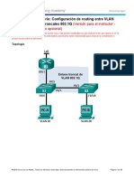 6.3.3.7 Lab - Configuring 802.1Q Trunk-Based Inter-VLAN Routing - ILM