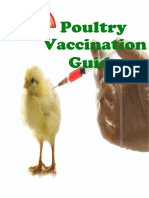 Poultry vacciantion guide