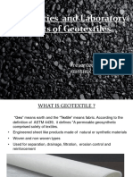 Geotextiles and its properties
