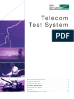 Telecom Test System IVS ENG