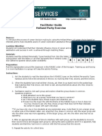 Careerservices Hollandparty Facilitator Guide 0