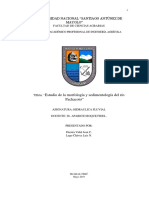 ESTUDIO MORFOLOGICO DEL RIO PACHACOTO