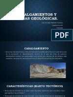 Cabalgamientos y Fallas Geológicas