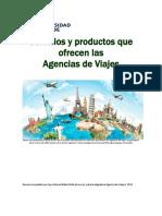 Unidad 5. Recurso 2. Lectura. Servicios y Productos Que Ofrecen Las Agencias de Viajes.2019