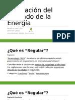 Regulación mercado energía