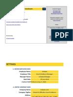 Employee Timesheets v1 0 Sample