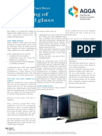 AGGA- Technical Fact Sheet on Heat Soaked Glass