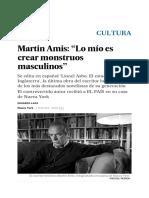 Entrevista Martin Amis