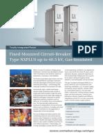 Fixed Mounted Circuit Breaker Switchgear_Siemens