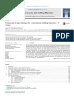 Construction and Building Materials Volume 121 Issue 2016 [Doi 10.1016_j.conbuildmat.2016.05.125] Vo, Loan T.T._ Navard, Patrick -- Treatments o