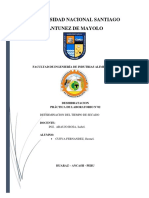 INFORME N° 02 - DESHIDRACION