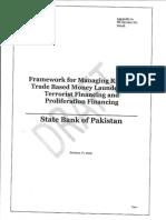 1-Framework on Managing Risks of Trade Based Money Laundering