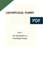 Centifugal Pumps, Unit 1
