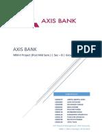 MM-II AXISBank ProjectReport Final,....