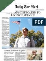 The Daily Tar Heel for November 11, 2010
