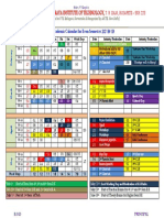 calender of event