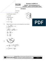 Physics DPP Solution (3)