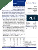 L&T Finance result update JM